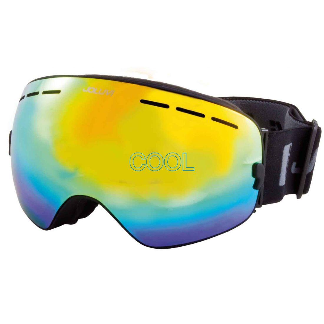 cool - Lyžovanie - Zrkadlové lyžiarske okuliare Joluvi FUTURA PRO 7b275710eb8