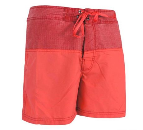 WAXX SPLIT RED BEACHSHORT pánske