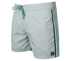 WAXX STRIPES GREY BEACHSHORT pánske S GREY