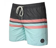 WAXX SWELL GREEN BEACHSHORT pánske M GREEN
