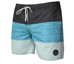 WAXX SWELL BLUE BEACHSHORT pánske S BLUE