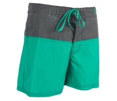WAXX SPLIT GREEN BEACHSHORT pánske S GREEN